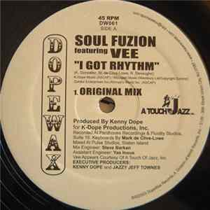 Soul Fuzion Featuring Vee - I Got Rhythm Album