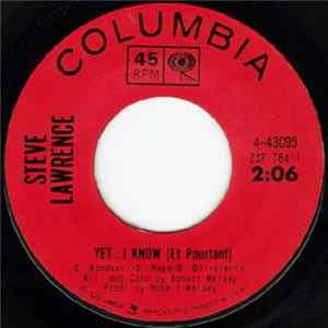 Steve Lawrence - Yet ...I Know Album