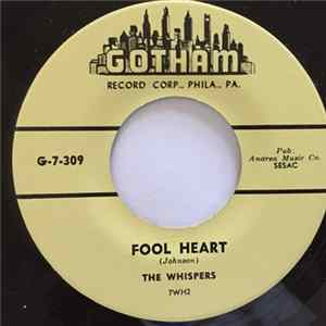 The Whispers - Don't Fool With Lizzie / Fool Heart Album