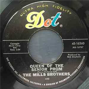 The Mills Brothers - Queen Of The Senior Prom / I Found The Only Girl For Me Album