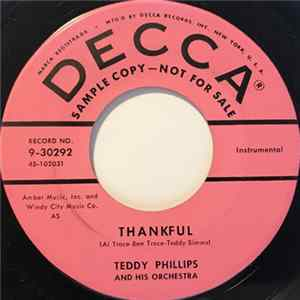 Teddy Phillips And His Orchestra - Thankful / Lullabye Of Love Album