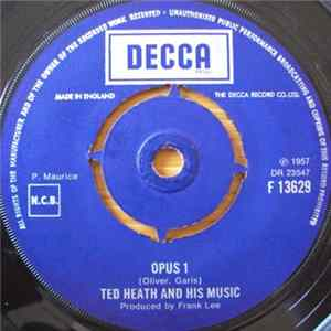 Ted Heath And His Music - Opus 1 / Hot Toddy Album