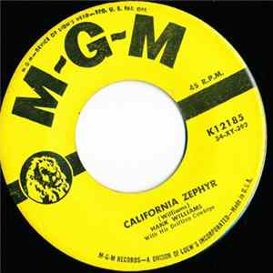 Hank Williams With His Drifting Cowboys - California Zephyr / Thy Burdens Are Greater Than Mine Album