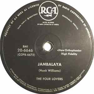 The Four Lovers - Jambalaya / Be Lovey Dovey Album