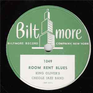 King Oliver's Creole Jazz Band - Room Rent Blues / I Ain't Gonna Tell Nobody Album