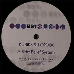 Kubiks & Lomax - Belief System / Outer Forces Album